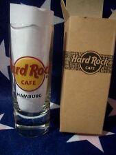 HRC Hard Rock Cafe Hamburg New Logo Logo New Style Shot Glass Schnapsglas NWT