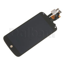 LCD Screen Touch Digitizer Assembly Replacement Frame For LG Google Nexus 4 E960