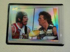 1997 SELECT AFL NATHAN BURKE & GARRY HOCKING HEAD2HEAD CARD #H2H11