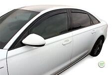 Dau10245 Audi A6 C7 Saloon 2011-up Déflecteurs de vent heko 4pc teinté