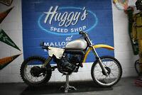 1976 SUZUKI RM370 RM 370A PROJECT RESTO BIKE NOVA TWINSHOCK EVO MX 400 250