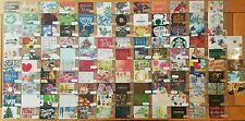 Classic Starbucks Gift Card lot of 125 all brand new Unswiped