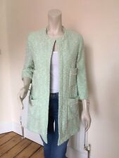 ZARA SUMMER GREEN JACKET SMART SIZE LARGE WORN ONCE COST £65