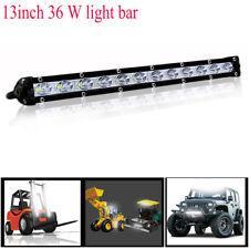 13Inch 36W White LED Spot Light Bar Driving Offroad Work Lamp SUV ATV  Lorry Van