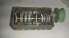 Air Variable Capacitors 380 + 320 pF + 2x 14,7pF