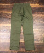 Apolis Global Citizen UTILITY CHINO Olive Green Men's Casual Dress Slacks Pants
