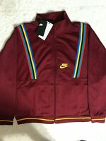 NIKE NSW FRENCH TERRY HERITAGE RE-ISSUE JACKET AR1867-677 MEN'S SIZE XL