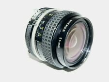 Nikkor 1:2, 24mm Wide Angle Nikon F Mount AI Lens~*Light Wear/Damage to Optics*