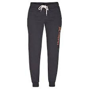Hurley Women Fleece Pant (S) Gray CD7073