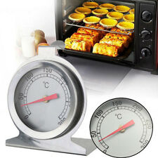Stainless Steel Oven Cooker Thermometer Temperature Gauge Quality 300ºC New*