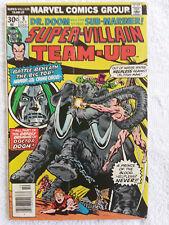 Super-Villain Team-Up #8 (Oct 1976, Marvel) Newsstand VG+