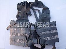 NEW US ARMY ACU MOLLE II FIGHTING LOAD CARRIER VEST FLC LBV RIFLEMAN REAL USGI