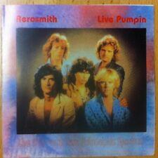 AEROSMITH LIVE PUMPIN LIVE CD SPECTRUM PHILADELPHIA PA 1/19/90 EXCELLENT