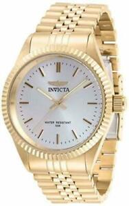 Invicta Men's Specialty Quartz Chronograph Silver Dial Watch 29384