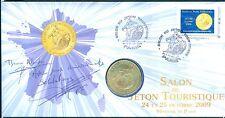 MEDAILLE MONNAIE DE PARIS  ENCARTS SALON JETON 7706HM10c/09 2009 TIRAGE 500 EX
