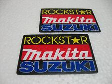 Aufkleber Sticker Auto-Tunning Motorradcross Racing Motorradsport Suzuki Makita