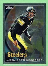 2010 Topps Chrome Football #C132 Ben Roethlisberger Pittsburgh Steelers NMT