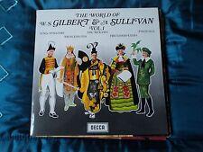 Gilbert and Sullivan(Vinyl LP)The World Of Vol.1-Decca-SPA 28- UK ~EX / VG