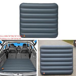 1PCS Car Trunk Inflatable Backseat Mattress Air Bed Camping Mat Universal Grey