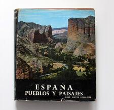 """""""España pueblo y paisajes"""" Jose Ortiz Echague-Firmado Por Autor"""