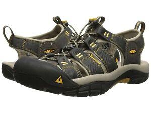 Men's Shoes KEEN NEWPORT H2 Waterproof Nylon Fisherman Sandals 1008399 RAVEN