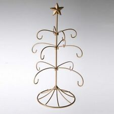 Exclusive Metal Bride's Tradition Ornament Display Tree  Gold Stand Wedding Gift