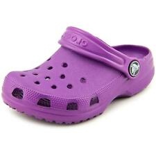 Crocs Classic Kids Toddler US 10 Purple Clogs NWOB  1008