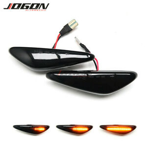 2x LED Front Side Marker Signal Sequantial Light For Mazda 5 6 Atenza MX-5 RX-8