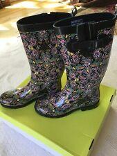 Capella New York New In Box Womens Paisley Rainboot Shoe 8M
