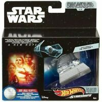 Darth Vader's Tie Fighter Star Wars Hot Wheels Starships Commemorative Series