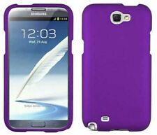 PURPLE RUBBERIZED PROTEX HARD SHELL CASE COVER FOR SAMSUNG GALAXY NOTE 2 II