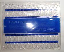 Nail Art Präsentationsdisplay Color Card Nail Art Nagellack UV Gel ect.NEU 60er