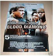 Filmposter A1 Neu Blood Diamond - Leonardo DiCaprio