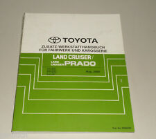 Werkstatthandbuch Toyota Land Cruiser / Prado Fahrwerk / Karosserie Zusatz