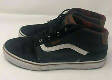 Vans R 721356 Mid-Top Leather Sneakers US Youth 6.5