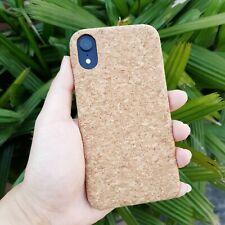 iPhone X / XR / XS & XS Max Handmade Cork Phone Case Hard PC Eco-Friendly Vegan