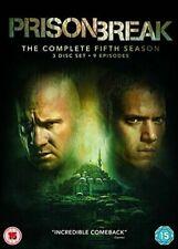 Prison Break The Complete Season 5 Series Five DVD Region 4