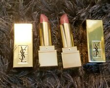 Lot of 2 YSL Rouge Pur Couture Lipstick #70 'Le Nu' Classic Nude 03oz Travel Sz