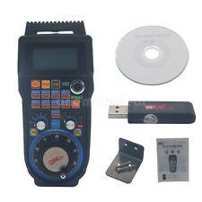 CNC MACH3 Wireless Electronic Handwheel 4-Axis Manual Controller USB Handle MPG.