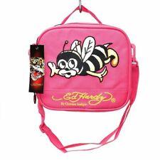 Ed Hardy Christian Audigier Pink Bumble Bee Lunch Box Shana Bee Lunch Bag