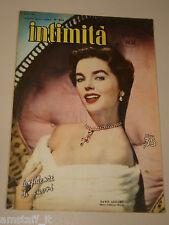 INTIMITA rivista 20 DICEMBRE 1951 n. 304 = DAWN ADDAMS cover magazine =
