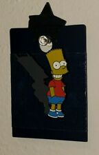 Universal Studios Pin Trading Bart Simpson Collectible Pin Devil Shadow NEW