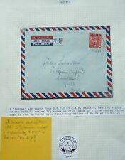 BAHRAIN KGVI 10 NOV 1952 FORCES AIRMAIL COVER TO CHRISTCHURCH, ENGLAND - RARE
