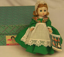 "Vintage Madame Alexander Kins IRISH #778 BENT KNEE 8"" Wendy Doll MINT in BOX"