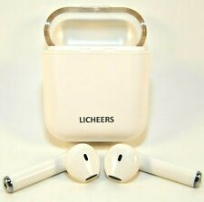 New listing Licheers Mini Wireless Sport Earphones for Android & iOs - White