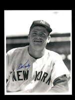 Bob Turley Hand Signed 8x10 Photo Autograph New York Yankees