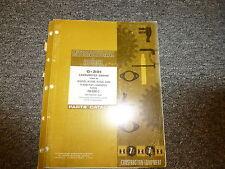 International IH G301 Carbureted Engine in H60B Pay Loader Parts Catalog Manual