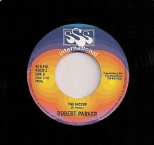 """70's SOUL 7"""" 45 ROBERT PARKER - THE HICCUP / JOHNNY SOUL - LONELY MAN REISSUE"""