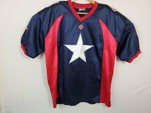 Marvel CAPTAIN AMERICA Spirit Jersey Size Large L 2000's