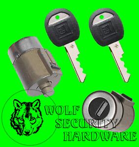 Chevy GMC C K Pickup 88-94 Door Lock Key Cylinder Tumbler Barrel Pair 2 GM Keys
